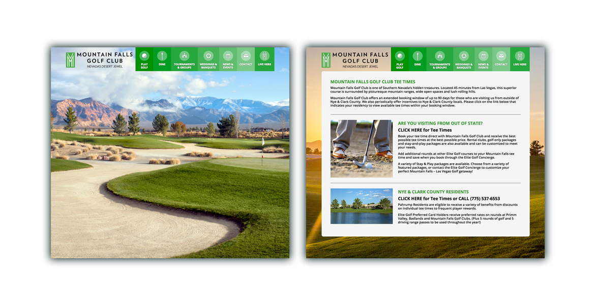 MountainFallsGolfClub.com